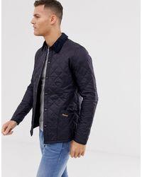 Barbour Heritage Liddesdale Quilted Jacket - Bleu