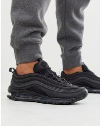 Nike Air Max '97 Running Shoes - Black