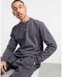 Reebok Classics Co-ord Long Sleeve T-shirt - Black
