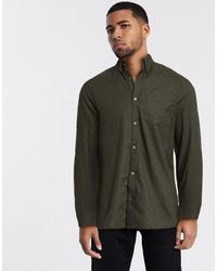 Burton Long Sleeve Oxford Shirt - Green