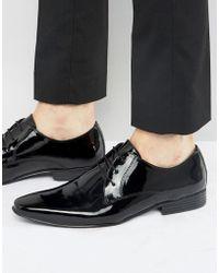 KG by Kurt Geiger - Kg By Kurt Geiger Kendal Patent Derby Shoes - Lyst