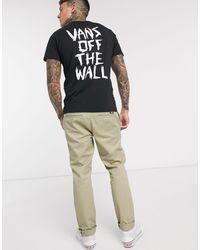 Vans Scratched - T-shirt nera - Nero