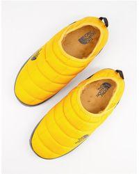 The North Face Желтые Мюли-слиперы Thermoball Traction V-желтый
