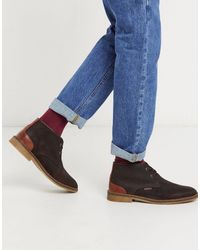 Barbour Kalahari - Suède Desert Boots - Bruin