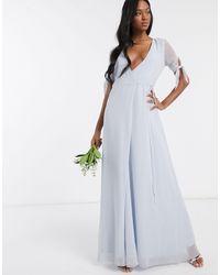 Maids To Measure Robe longue - Bleu