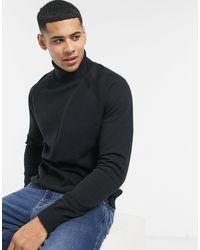 Threadbare Черный Джемпер Bryant-черный Цвет