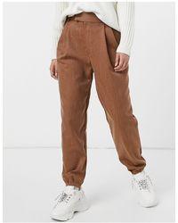 BB Dakota Pantalones color camel oscuro - Marrón