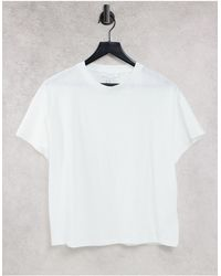 TOPSHOP Relaxed Fit T-shirt - White