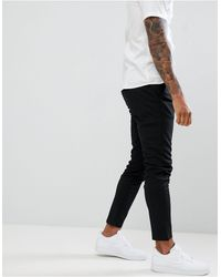 Only & Sons Slim Tapered Fit Trousers - Black