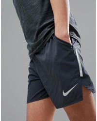Nike - Flex Distance 5 Inch Shorts In Black 892909-010 - Lyst