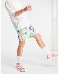 Weekday Olsen Big Sponge Shorts - Green