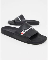 Champion Varsity 2.0 Slides - Black