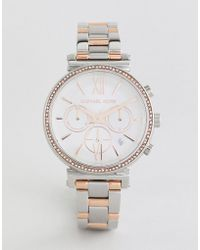 Michael Kors - Mk6558 Sofie Bracelet Watch In Mixed Metal 39mm - Lyst