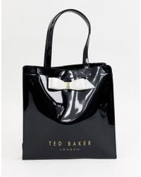 Ted Baker Bow Detail Small Icon Bag - Black