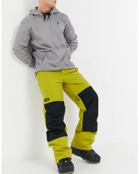 Planks Easy Rider - Pantalon - Jaune