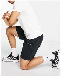 Columbia Logo Fleece Shorts - Black
