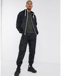 Nike Asos Asterix Leather Biker Boots - Black