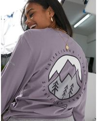 Columbia Cades Cove - T-shirt manches longues - Violet
