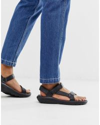 Teva Hurricane Drift Eva Sandals In Black