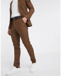 New Look Темно-бежевые Брюки Скинни -светло-коричневый - Многоцветный