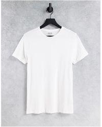 Burton Burton – Kurzärmliges Muskel-T-Shirt - Weiß