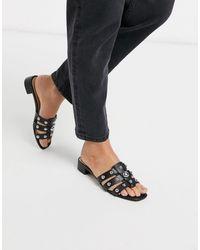 ALDO Studly Mid Heel Mule Sandal With Studs - Multicolour