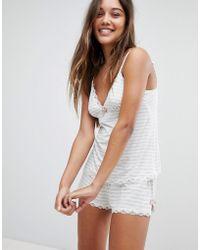 DORINA - Romy Striped Cami Pyjama Top - Lyst