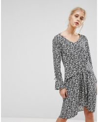 MAX&Co. - Max&co Davanti Printed Dress - Lyst