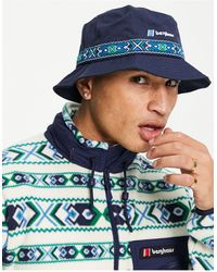 Berghaus Aztec Bucket Hat - Blue
