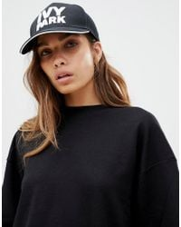 352caafffe393 Ivy Park Mesh Baseball Cap By in Black - Lyst