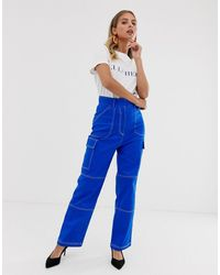 The East Order - Becky Trousers With Contrast Stitching - Lyst