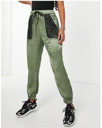 Love Moschino Зеленые Брюки Pantalone-зеленый Цвет