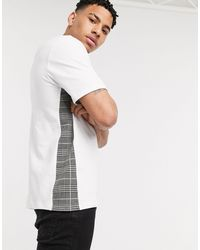 River Island Maison Riviera T-shirt - White