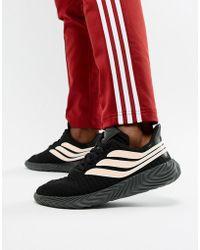 the best attitude f655f cd0f8 adidas Originals - Sobakov Trainers In Black Bb7674 - Lyst