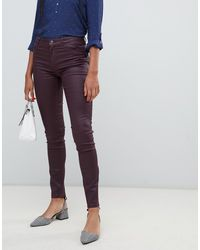 Esprit - – Beschichtete, enge Jeans - Lyst