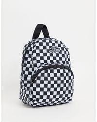 Vans Мини-рюкзак В Черно-белую Шахматную Клетку Got This-черный Цвет
