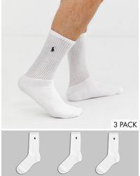 Polo Ralph Lauren Pack - Blanco