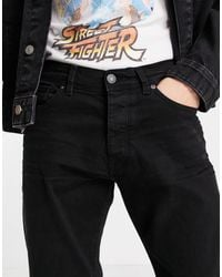 SELECTED Relaxed Crop Jeans - Black