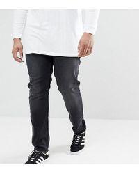 Farah - Drake Slim Fit Jeans In Charcoal - Lyst