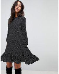 Y.A.S | Spotty Dress | Lyst