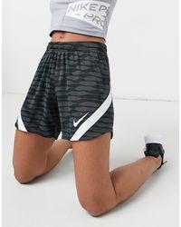 Nike Football Nike Soccer Dri-fit Strike 21 Graphic Shorts - Black