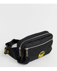 Dr. Martens Logo Bumbag In Black And Bright Yellow