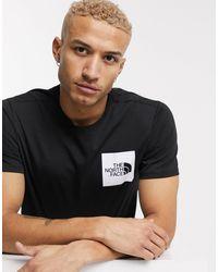The North Face Fine - T-shirt nera - Nero