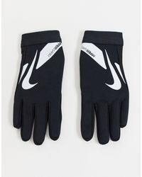 Nike Football Guantes negros Hyperwarm Academy