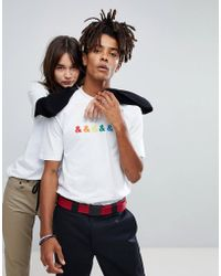 ASOS - X Glaad T-shirt With Embroidery - Lyst