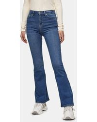 TOPSHOP Flared Jeans - Blue