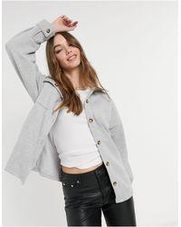 Daisy Street Рубашка В Стиле Oversized От Комплекта -серый - Многоцветный