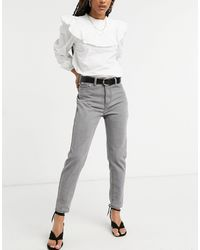 In The Style X Jac Jossa Mom Jeans - Grey