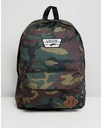 Vans - Transient Iii Backpack In Camo - Lyst