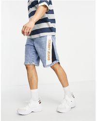 Tommy Hilfiger Pantaloncini da basket ampi - Blu